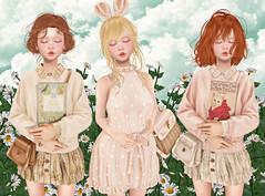 [monso] Limna, Saeko & Ruda (Gabriella Marshdevil ~ BUSY IRL) Tags: sl secondlife cute kawaii monso catwa moremore zenith