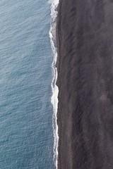 Black beach - Iceland (Lassehn41) Tags: canon eos eos7d 7d 1585 efs1585mm iceland blackandblue nature beach sea waves split travel above