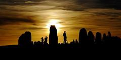 Ale Stenar (J. Roseen) Tags: alesstones alestenar kåseberga skåne ancient sweden sverige scandinavia skandinavien norden nordic sunset solnedgång sunlight solljus sky himmel