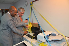 US Embassy Donates Computer Equipment To OCG