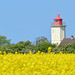 Alle Farben leuchten / all colors shine (r.stopable1) Tags: colors leuchtturm lighthouse fehmarn schleswigholstein rapeseedfield westermarkelsdorf ostsee balticsea landscape landschaft farben countryside