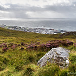 Mallaig port and Sound of Sleat from the hill thumbnail