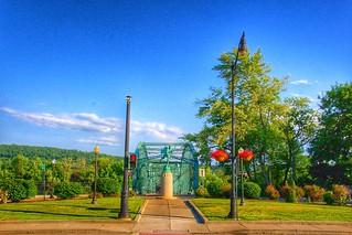 Binghamton New York ( Brome County ) South Washington Street Bridge