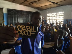 Class is in Session (Spen Crush Proof) Tags: spen cp crushproof freetown sierraleone africa class maths math slaps sticker tag graffiti