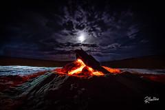Desert Camp (Riccardo Maria Mantero) Tags: mantero riccardo maria adventure bonfire campfire desert fire marrakech moon morocco sand travel riccardomantero riccardomariamantero