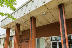Shakopee City Hall - Minnesota (Tony Webster) Tags: 129holmesst 129holmesstreetsouth cityofshakopee holmesst minnesota shakopee shakopeecityhall cityhall unitedstates us wmc1830