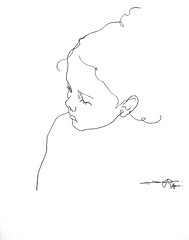 P1016638 (Gasheh) Tags: art painting drawing sketch portrait girl child line pen gasheh 2017