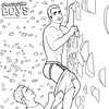 Cheesecake Boy Pinup Pantsed While Rock Climbing (Paulysworld) Tags: cheesecakeboy pinup pinupboy man male model pantsed pantsing depanted embarrassed funny cute oopsie butt booty jock jockstrap gay homosexual couple art illustration free coloringpage coloringbook color colouring