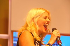 Such Fun.......... (law_keven) Tags: hollywilloughby thismorninglive birmingham england uk nec nationalexhibitioncentre presenter actress tv televisionstar televisionhost daytimetelevision thismorning celebrityjuice celebrity