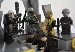 We Don't Need Their Scum (WattyBricks) Tags: lego star wars episode v empire strikes back bounty hunter 4lom ig88 boba fett bossk dark dengar imperial minifigures