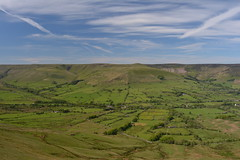 The Vale of Edale, Peak District National Park, Derbyshire, England.