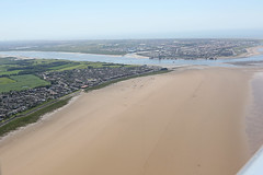 Knott End & Fleetwood (QSY on-route) Tags: knott end fleetwood lancashire landing eurostar ev97 gcevs aerial photography