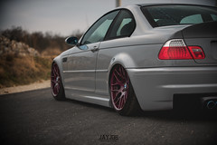 BMW M3 E46 (JAYJOE.MEDIA) Tags: bmw m3 e46 low lower lowered lowlife stance stanced bagged airride static slammed wheelwhore fitment