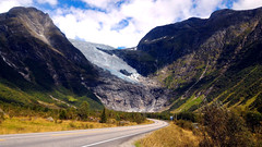 Norway on the road (Gianluca Bergamaschi) Tags: norway norvegia glacier driving travelling guidare ghiacciaio