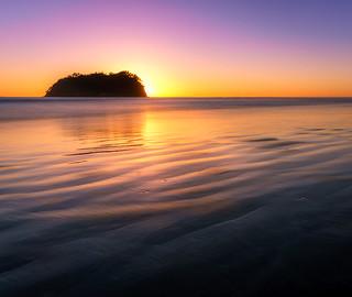 Rabbit Island sunrise