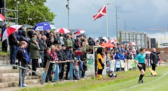 A fine crowd on the North Terracing at Holm Park (Stevie Doogan) Tags: clydebank shettleston mcbookiecom west scotland league superleague first division holm park saturday 20th may 2017 bankies scottish juniors