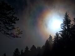 Arcobaleno notturno (Fernando De March) Tags: arcobalenodifrazionecansiglionottetemporalepioggiaanellootticointerferenzaluce