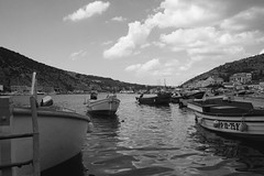 Balaklava bay (Alexander Oleynik) Tags: blacksea bay boat balaklava sky crimea clouds weather seasons bw seascape балаклава бухта лодка
