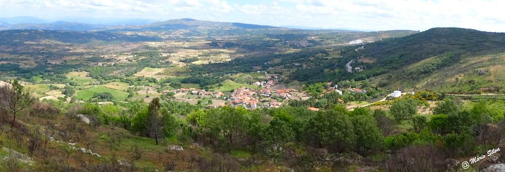 Águas Frias (Chaves) - ...panorámica da Aldeia ...
