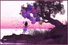 Spirited Away (Serena Reins) Tags: rez day child celebration whimsey balloons cute toddleedoo tableau