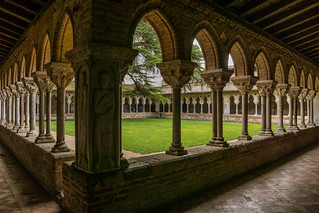 Cloître de l' Abbaye Saint-Pierre de Moissac