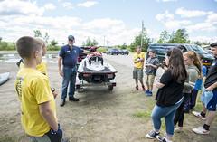 Water Shield Workshop Lake Pleasant (Adirondack Watershed Institute) Tags: adirondack water watershed waterway environment institute invasive boats clean conservation