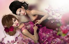 Never Ending friendship (meriluu17) Tags: sisters foxcity bff monalisa ml flower flowers blossom friends people emotions