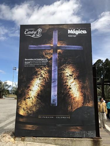 La Catedral de Sal, Zipaquirá, Colômbia.