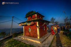 sarangkot- sunrise-34 p logo (anindya0909) Tags: nepal sarangkot sunise sunrise