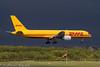 DHL B757 (Dougie Edmond) Tags: plane airport egpk airplane aircraft boeing sunlight goodlight