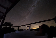 The only way to view the Milky Way - in a hot bath (blinsaff) Tags: milky way astrophotography astronomy sunshine coast night sky longexposure stars nature photography maleny luxury nikon d600 rokinon 14mm australia