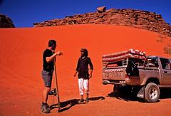 (louis de champs) Tags: minoltasrt101 agfaprecisa100 vividcolors desert redsand wadirum jordan surf dune