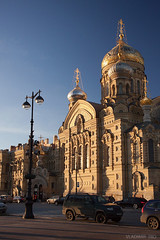 Church (VladimirTro) Tags: russia russian canon europe outdoor church street saintpetersburg sunset россия санктпетербург ortodox 500d architecture cityscape golden gold dome eos dslr photo photography 24mm
