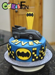Bat Mobile Cake (bsheridan1959) Tags: batmobilecake birthdaycake kidscake batmobile batcar superhero boyscake batman