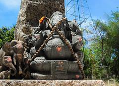 IMG_49447 (Manveer Jarosz) Tags: auroville bharat ganapati ganesha ganpati hindu hindustan india solitudefarm southindia tamilnadu wwoof worldwideopportunitiesonorganicfarms farm figure holy mala murti religion ritual rural solitude stone village