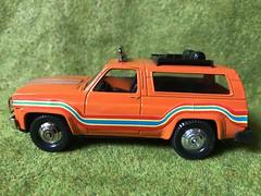 Playart Hong Kong - Chevy Blazer 4x4 - Miniature Die Cast Metal Scale Model Vehicle (firehouse.ie) Tags: models model toys toy cars car 4c4 suv truck blazer chevy playart