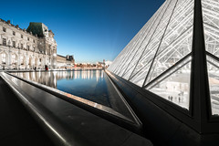 Point of View (McQuaide Photography) Tags: paris france french républiquefrançaise iledefrance europe sony a7rii ilce7rm2 alpha mirrorless 1635mm sonyzeiss zeiss variotessar fullframe mcquaidephotography adobe photoshop lightroom tripod manfrotto light availablelight bluehour twilight dusk longexposure city capitalcity urban lowlight outdoor outside architecture building wideangle wideanglelens modern modernarchitecture water reflection pyramid geometry shape form geometric louvre muséedulouvre courtyard historic museum landmark icon famous travel tourism culture cournapoléon court impei glass metal triangle triangular sharp point pointed pov pointofview perspective