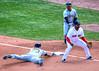 Safe! (Tom Jolly) Tags: davidfreese pablosandoval joeycora fenwaypark boston openingday 2017 baseball redsox pirates