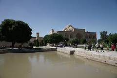 Baha ad-Din Naqshband complex, Bukhara (jozioau) Tags: variosonnart282470 dome ribs pool sufi shrine tomb mausoleum mosque bukhara