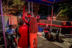 Backstage series | Madras Jazz festival 2017. (Vijayaraj PS) Tags: red music streetphotography indianstreetphotography artists backstage candid india asia tamilnadu southindia iamnikon performers people eventphotography performer stage 2017 event nikon colours jazz jazzmusic band gig doublebass