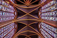 insectivoruosly (obsidiana10) Tags: saintechapelle techo arquitectura architecture gótico gothic art arte france paris vidrieras stainedglass sony a77 îledelacité rayonnant