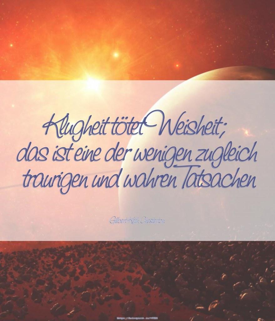 Amüsant Kluge Zitate Sammlung Von Klugheit Tötet Weisheit (holospirit) Tags: Automatisch Chesterton