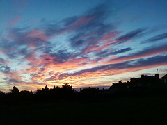 Fiery Dawn (Kinsella Media) Tags: dawn sky sunrise morning clouds fiery orange red