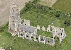 St Andrew's church in Covehithe - Suffolk aerial (John D F) Tags: covehithe suffolk church aerial village aerialphotography aerialimage aerialphotograph aerialview aerialimagesuk viewfromplane highdefinition highresolution hirez hires hidef britainfromtheair britainfromabove