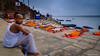 Every Day is a Yoga Day..... (Neha & Chittaranjan Desai) Tags: varanasi india yoga day international ganga ganges river kashi ghat kedar people students children