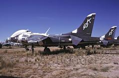 TAV8A  159383  VMAT203 (TF102A) Tags: aviation aircraft amarc amarg masdc kodachrome harrier av8 tav8a usmarines
