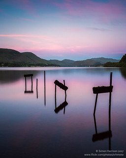 Dawn over Ullswater