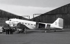 5-10. Imperial Iranian Air Force Douglas C-47 (Ayronautica) Tags: ayronautica 1958 november aviation propliner military scanned egpk pik prestwick imperialiranianairforce douglasc47skytrain 510