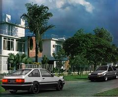 AE86 80's Gulshan (sartajahmedAR) Tags: gulshan dhaka bangladesh 80s ae86 jdm photoshop