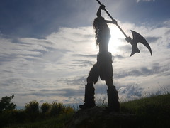 Shooting Skyrim - Ruines d'Allan -2017-06-03- P2090746 (styeb) Tags: shoot shooting skyrim allan ruine village drome montelimar 2017 juin 06 cosplay